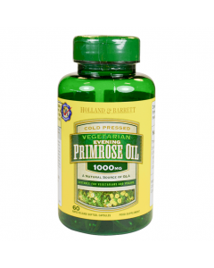 Holland & Barrett Evening Primrose Oil for Vegetarians 1000mg 60 Capsules