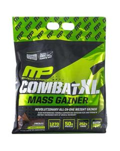 MusclePharm XL Mass Gainer Combat Chocolate 12 lbs