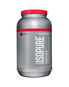 Nature's Best Isopure Zero Carb Strawberries & Cream 3 lbs