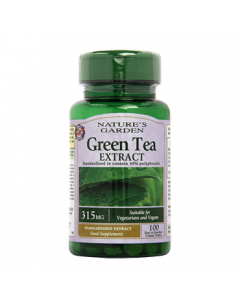Nature's Garden Green Tea Extract 315mg 100 Tablets