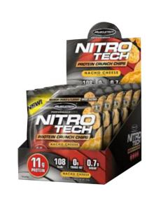 Muscletech Nitrotech Chips Nacho Cheese 125g