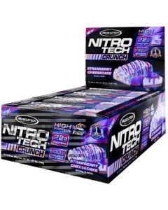 Muscletech Nitrotech Bars Strawberry Cheesecake 780g