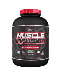 Nutrex Muscle Infusion Advance Protein Blend Chocolate 5 lbs