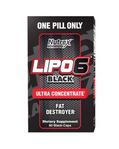 Nutrex Lipo 6 Black Ultra Concentrate 60s