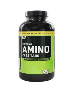 Optimum Nutrition Superior Amino 2222 160 Tablets