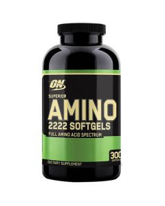 Optimum Nutrition Superior Amino 2222 - 300 Softgels