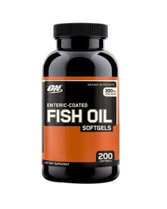Optimum Nutrition Fish Oil 300 mg 200 Soft Gels