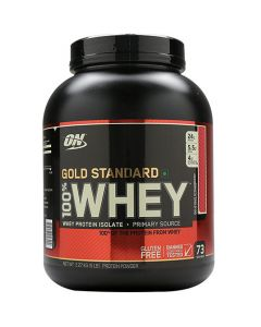 Optimum Nutrition 100% Whey Gold Standard Delicious Strawberry 5 lbs