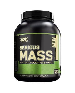 Optimum Nutrition Serious Mass Vanilla 6 lbs
