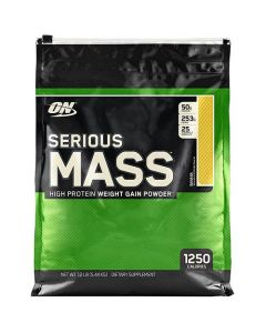 Optimum Nutrition On Serious Mass Banana 12 lbs