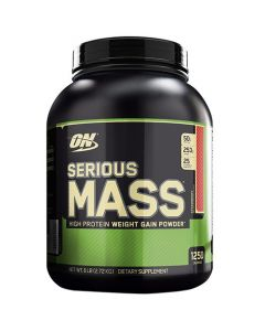 Optimum Nutrition On Serious Mass Strawberry 6 lbs