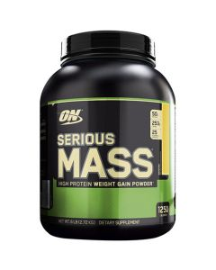 Optimum Nutrition Serious Mass Rich Banana 6 lbs