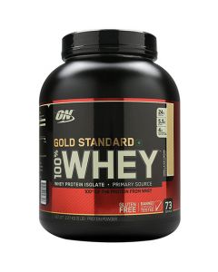 Optimum Nutrition 100% Whey Gold Standard Vanilla Ice Cream 5 lbs