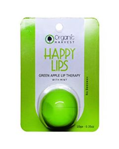 Organic Harvest Lip Balm Green Apple 10ml
