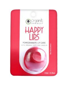 Organic Harvest Lip Balm Pomegranate 10ml