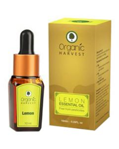 Organic Harvest Lemon Essential Oil 10ml