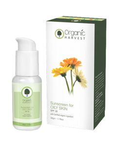 Organic Harvest Sunscreen For Oily Skin Spf 30 50g