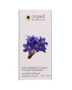 Organic Harvest Anti Wrinkle Cream 30g