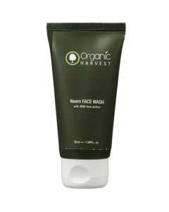 Organic Harvest Neem Bse Free Active Face Wash 50g