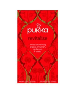 Pukka Revitalise Tea 50g