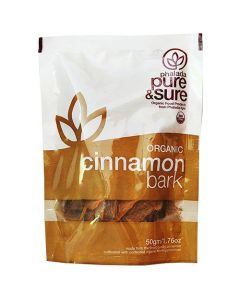 Pure & Sure Organic Cinnamon Bark 50g
