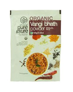 Pure & Sure Organic Vangi Bhath Powder 100g