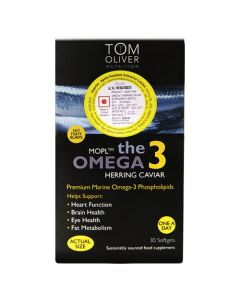 Tom Oliver Nutrition The Omega 3 Herring Caviar 30 Softgels