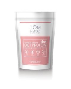 Tom Oliver Diet Protein Strawberry 907gm